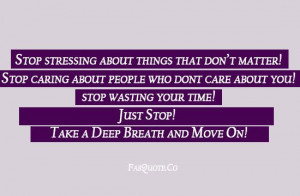 """Funny """"Stop wasting your time"""""""