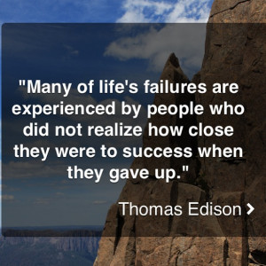 Motivation Picture Quote Dont Give Up