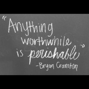 From talking bad finale ; Bryan Cranston – anything worthwhile is ...