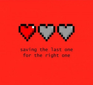 Video game quote, love