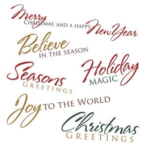 christmas card sayings 5 Beautiful Christmas Blessing Cards…