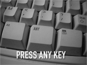 ... keyboard's buttons, add the funny buttons on, take pictures of it