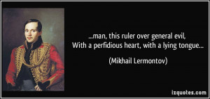 More Mikhail Lermontov Quotes