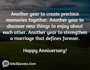 another year to create precious memories together another year to ...