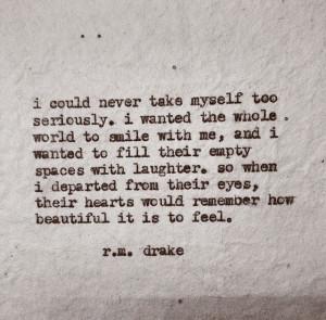 drake.: Rm Drake Life, Drake Rm Quotes, Staybeauti Rmdrake, Drake ...