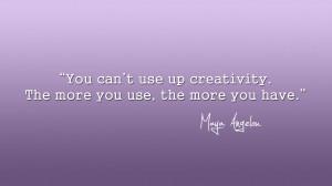 Maya Angelou Thoughts...