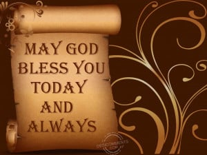 Good Morning God Bless Your Day May god bless you