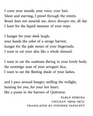 Neruda Quotes
