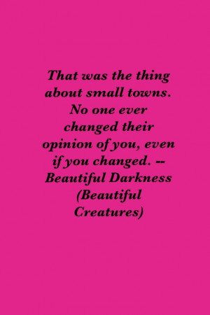 Beautiful Creatures Book Quotes Beautiful darkness (beautiful