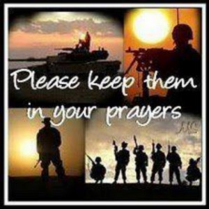 They are strong and brave and would never ask for our prayers but they ...