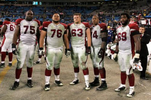 Arizona Cardinals Offensive Line