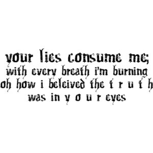emoquote3 I Hate Liars Quotes