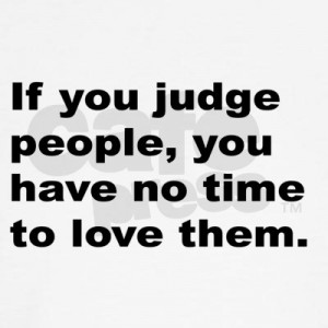 The Right to Judge Others