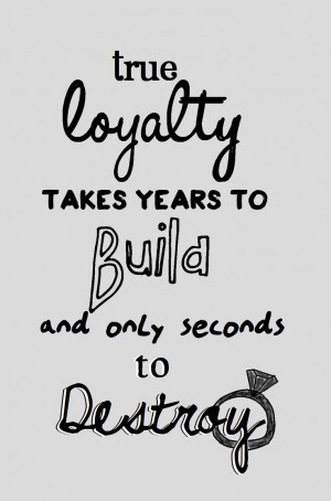 Loyalty Quotes Abc's revenge: loyalty quote
