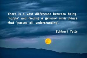 Happiness or Inner Peace – You Choose!