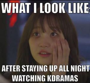 korean drama meme