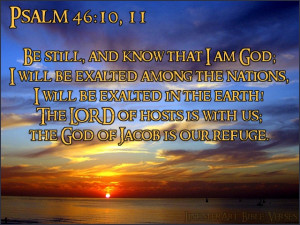 Listen to Psalm Chapter 46