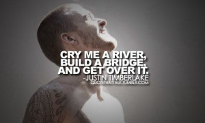 Cry Me a River, Justin Timberlake