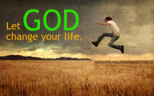 Give over control to God