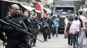 Police and gang members have clashed in the Brazilian city of Rio de ...