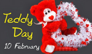 Cute Teddy Day 2014 SMS Wishes, Teddy Bear Day Quotes Wallpapers