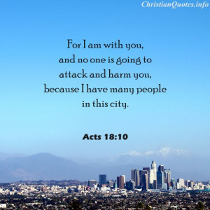 ... 18:10 Bible Verse - Many People in this City - city with mountains