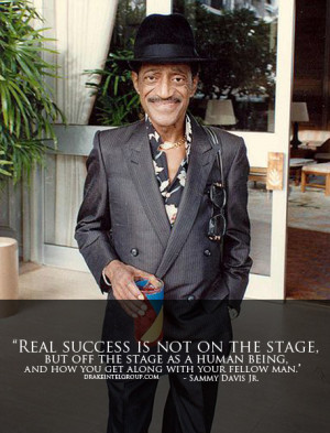 Sammy Davis Jr. Quote