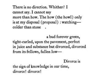 divorce poems