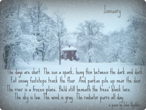 wintry poem and my love for Pennsylvania