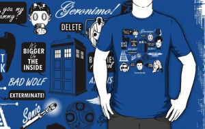 Doctor Who Quotes Shirt