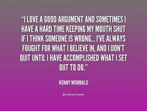 Love Arguments Quotes