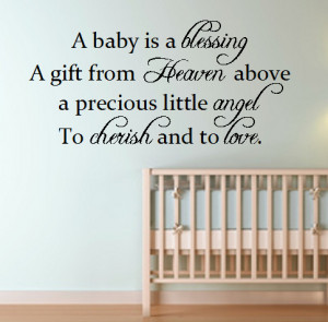 baby is a blessing.