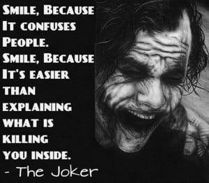 The Joker Philosophy