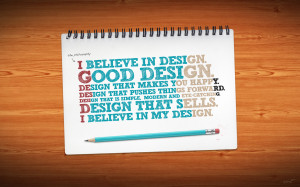 INSPIRATION: Great Design Phrases and Quotes (Part 1)