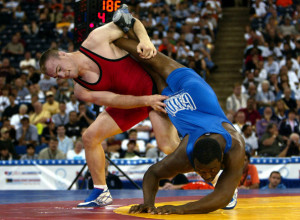 Cael Sanderson - U.S. Wrestling Olympic Team Trials Day 2