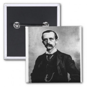 Sir James Matthew Barrie Pinback Buttons