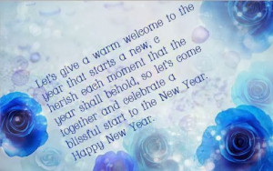 New Year 2014 Saying Quotes & Messages: It's All Up To You