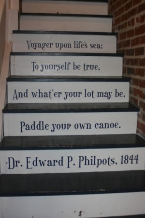 Photo of Painted Stairs Via This Old House Magazine