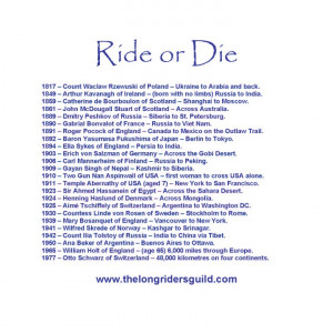 Support The Long Riders' Guild Academic Foundation