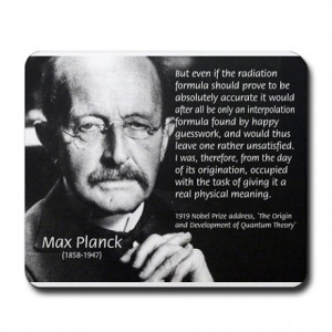 Max Planck Quantum Theory Mousepad