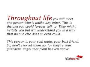 Soul Mate, Best Friend...