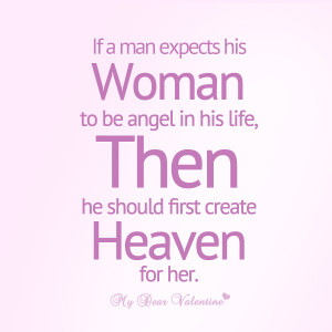 mydearvalentine.comLove quotes for her - If a man