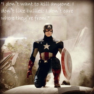 Captain America Quote by HayleyyStark
