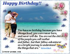 Quotes About Lost Loved Ones Birthdays ~ Birthday Messages on ...