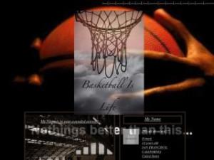 Basketball Is Life -