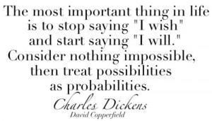 ... saying