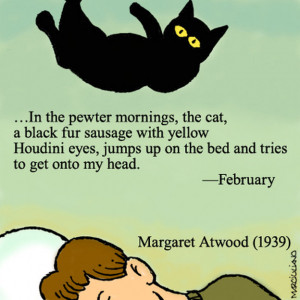 Cartoon Tribute To Cats, And The Poets Who Loved Them