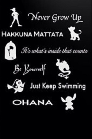Disney quotes to live by!!!!