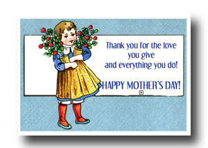 thanks karen for this card mother s day is coming and i thought you ...