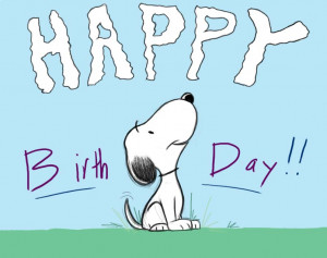 Snoopy Happy Birthday Images